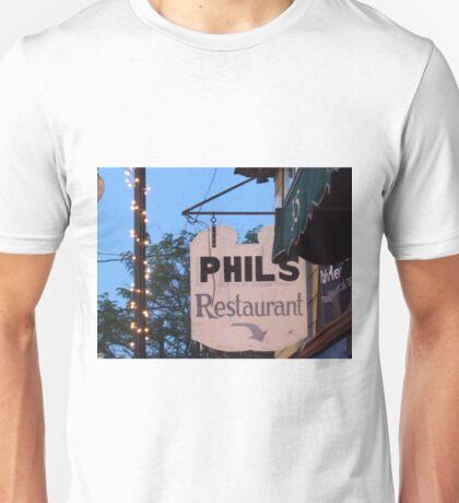 phil's restaurant wakefield rhode island Unisex T-Shirt