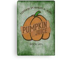 Fictional Brew - Pumpkin Juice Canvas Print