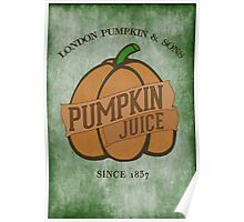 Fictional Brew - Pumpkin Juice Poster