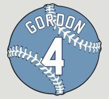Alex Gordon Baseball Design by canossagraphics