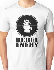 Rebel Enemy Black Unisex T-Shirt