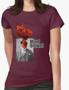 Mind Blown! Womens Fitted T-Shirt
