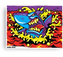 Shark Week Canvas Print