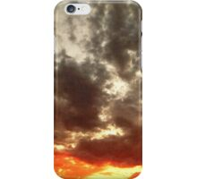 Sky Moods 5, Stoking The Coals iPhone Case/Skin
