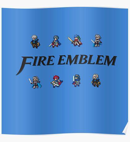 SMASH LORDS   Fire Emblem Poster