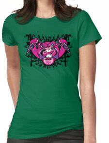 Evil Beaver Womens Fitted T-Shirt