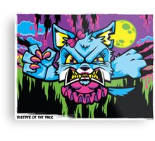 Bleeder of the Pack Metal Print