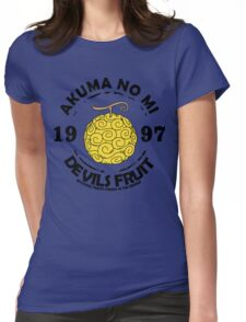 devil fruit Womens Fitted T-Shirt