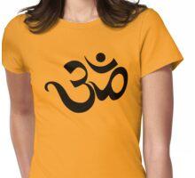 "Yoga ""Om Symbol"" T-Shirt Womens Fitted T-Shirt"