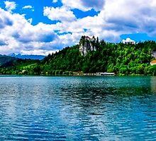 Lake Bled, Slovenia panoramic by Luke Farmer