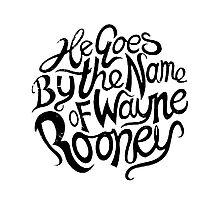 Wayne Rooney Photographic Print
