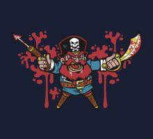 Captain Redbeard One Piece - Long Sleeve