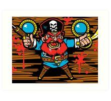 Captain Redbeard Art Print