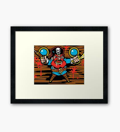 Captain Redbeard Framed Print