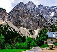 Alpine road through Slovenia by Luke Farmer