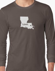 Louisiana Love Long Sleeve T-Shirt