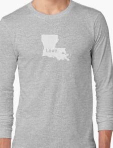 Louisiana Love Long Sleeve T-Shirt