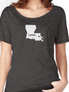 Louisiana Love Women's Relaxed Fit T-Shirt