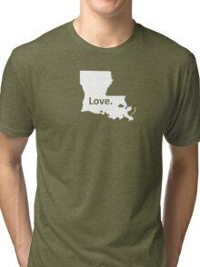 Louisiana Love Tri-blend T-Shirt