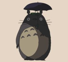 My Neighbour Totoro - Umbrella Totoro by RaptorCore7