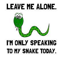 Alone Speaking Snake by AmazingMart