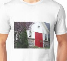 wakefield, rhode island,  red door church Unisex T-Shirt