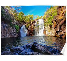 Florence Falls waterfall in Litchfield National Park, Australia Poster