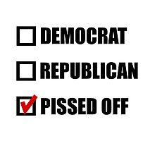 Pissed Off Voter by AmazingMart