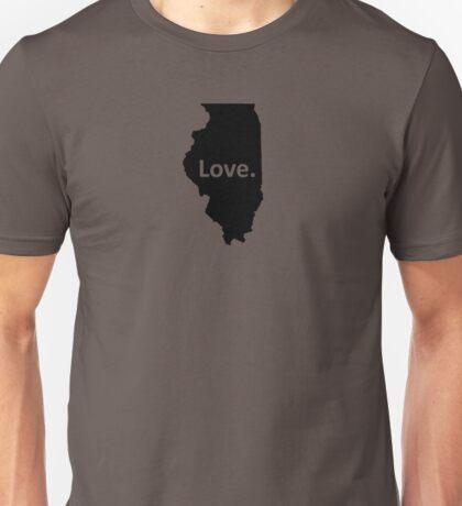 Illinois Love Unisex T-Shirt