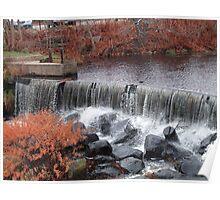 wakefield rhode island waterfall 2 Poster