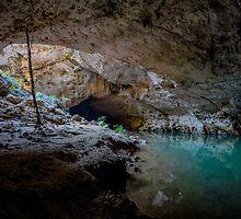 Tunnel Creek in the Kimberley, Australia by Luke Farmer