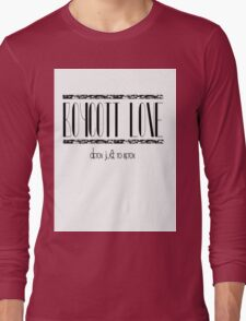 Boycott Love Long Sleeve T-Shirt
