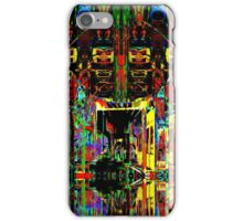 PSYCHEDELIC PARKING LEVEL iPhone Case/Skin