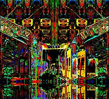 PSYCHEDELIC PARKING LEVEL by johnlegry