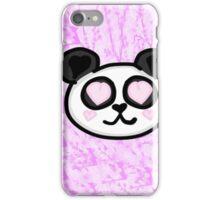 Kawaii Panda Love iPhone Case/Skin
