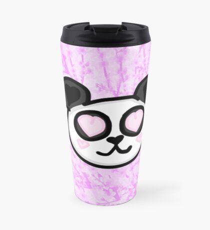 Kawaii Panda Love Travel Mug