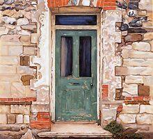 Door at Castle Acre by JonEmery