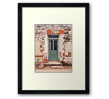 Door at Castle Acre Framed Print