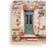 Door at Castle Acre Metal Print