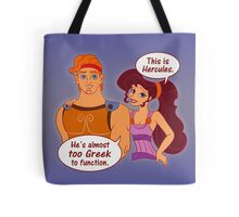 Too Greek to Function Tote Bag