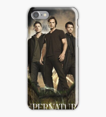 Supernatural Cover iPhone Case/Skin