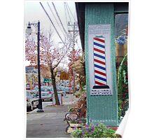 wakefield rhode island  barber shop Poster