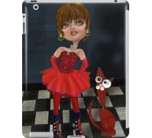 Matilda and her Cat, by Alma Lee iPad Case/Skin