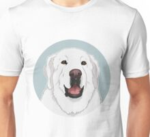 NALA! Great Pyrenees Dog / white polar bear happy cute livestock guardian dog lgd herd sheep dog Unisex T-Shirt