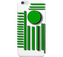 Circle And Bars iPhone Case/Skin