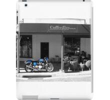 Triumph on black background iPad Case/Skin