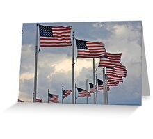 Patriotic Portrait Greeting Card