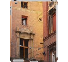 Red brick buildings from Bologna, Italy iPad Case/Skin