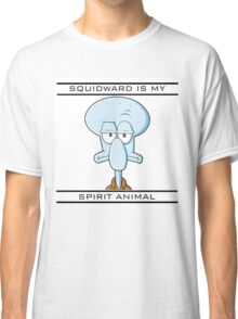 Squidward is my Spirit Animal Classic T-Shirt