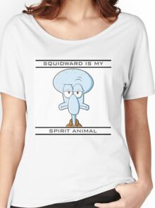 Squidward is my Spirit Animal Women's Relaxed Fit T-Shirt